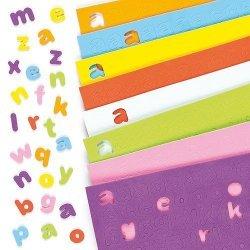 Foam Stickers KLEINE LETTERS  1100-dlg.