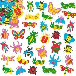 Foam Stickers INSECT  100-dlg.