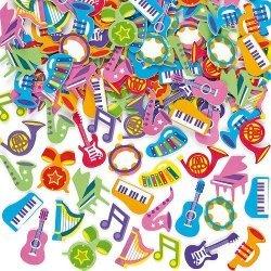 Foam Stickers MUSICAL  100-dlg.