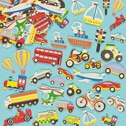 Foam Stickers TRANSPORT  108-dlg.