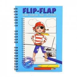 Flip Flap Kleurboek Jongens