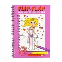 Flip Flap Kleurboek Meisjes