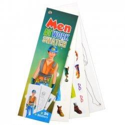 Sticker Waaier - Mannen aan het Werk
