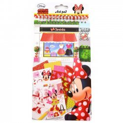 Knutselboek Minnie Mouse 14x28 cm.