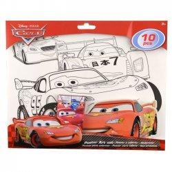 Poster Kleur Set Cars 32x28 cm.