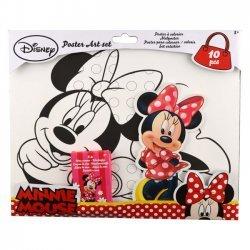 Poster Kleur Set Minnie Mouse 32x28 cm.