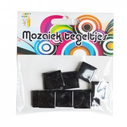 Mozaiek Steentjes Zwart