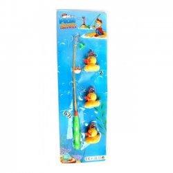 12 x Visspel Eendjes 35 cm 4-delig
