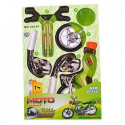 3D Puzzel Kinderen MOTO