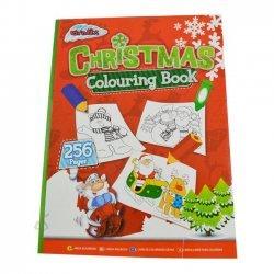 Kleurboek Kerstmis 256 Pagina's