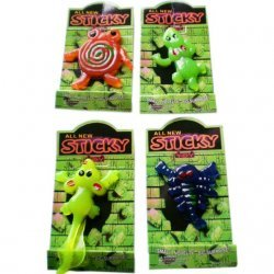 Sticky Monsters 3 - 6 cm