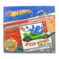 6 x Hotwheels Auto Schetsboek
