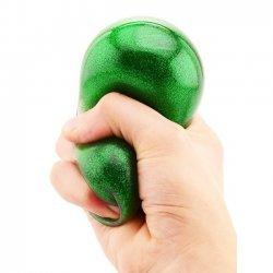 Squeeze Glitterbal 7 cm.