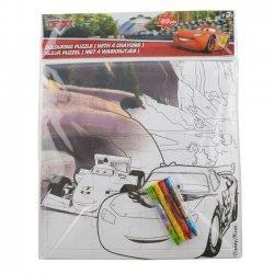 Kleur Puzzel Cars 25 x 25 cm