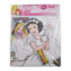 Kleur Puzzel Princesse 25 x 25 cm