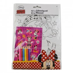 Kleurset Minnie Mouse 15-delig
