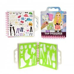 Schetsboek City Fashion met Stickers