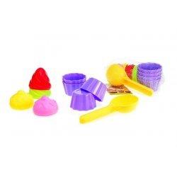 Zandspeelgoed Cup-Cakes
