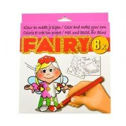 Kleur en Maak je eigen FAIRY figuurtjes 8-dlg.