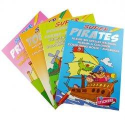 24 x Super Kleur-en Spelletjes Boek