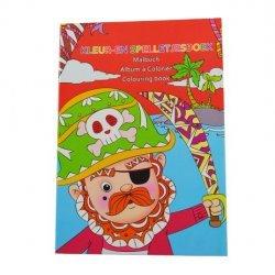 Mini Kleur-en Spelletjesboek PIRAAT