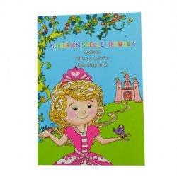 Mini Kleur-en Spelletjesboek PRINSES