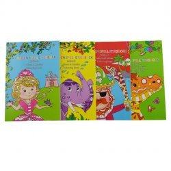 24 x Mini Kleur-en Spelletjesboek