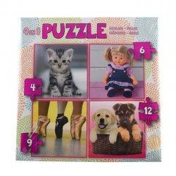 Puzzel 4in1 Meisjes