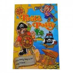 Verrassing - Uitdeelzakje Piraten