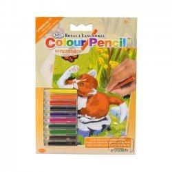 Kleuren op Nummer CPNMIN105 - 127 x 178 mm. Kitten en Vlinder