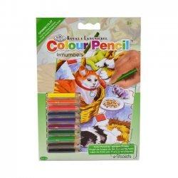 Kleuren op Nummer CPNMIN115 - 127 x 178 mm. Huisdieren