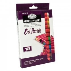 Olie Pastels Artist Groot 12-dlg. OILPA612