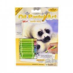 Kleuren met Olie Pastels OPSMIN106 - 127 x 178 mm. Zeehonden Pups