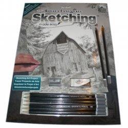 Tekenen - Sketching Made Easy 222 x 288 mm. Oude Schuur  SKBN1