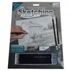 Tekenen - Sketching Made Easy 222 x 288 mm. Paardenkoets SKBN11
