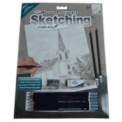 Tekenen - Sketching Made Easy 222 x 288 mm. Ivy Kerk SKBN12