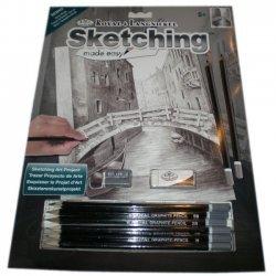 Tekenen - Sketching Made Easy 222 x 288 mm. Brug in Venetie  SKBN3