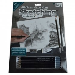 Tekenen - Sketching Made Easy 222 x 288 mm. Visserspier SKBN5
