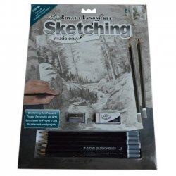 Tekenen - Sketching Made Easy 222 x 288 mm. Schaduw Meer SKBN6