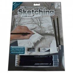 Tekenen - Sketching Made Easy 222 x 288 mm. Winter Beekje SKBN7