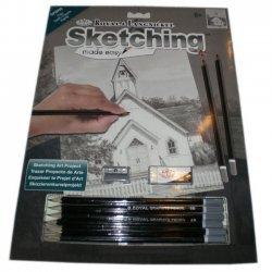 Tekenen - Sketching Made Easy 222 x 288 mm. Kapel  SKBN8
