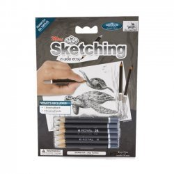 Tekenen - Sketching Made Easy 127 x 177 mm. Zeeschilpad  SKMIN104