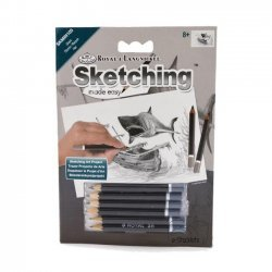 12 x Tekenen - Sketching Made Easy 8+ 127 x 177 mm