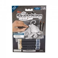 Tekenen - Sketching Made Easy 127 x 177 mm. Octopus  SKMIN102