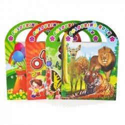 24 x Kleur & Stickerboek 13x9,5 cm