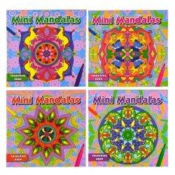 24 x Mini Mandala's Kleurboek