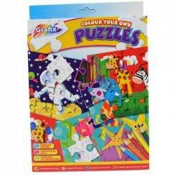 Puzzels Inkleuren Set