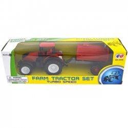 Tractor met aanhangwagen 21cm. ( model 3 )