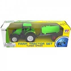 Tractor met aanhangwagen 21cm. ( model 4 )