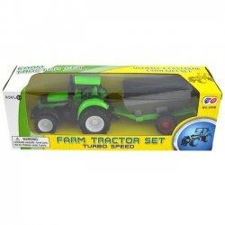 Tractor met aanhangwagen 21cm. ( model 6 )